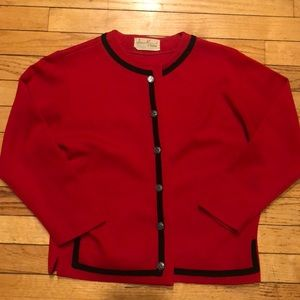 VINTAGE JAMES KENROB BY DALTON SWEATER/ JACKET